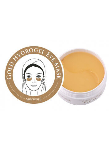 SHANGPREE. GOLD HYDROGEL EYE MASK