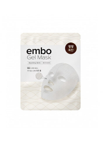 MISSHA -EMBO GEL MASK NOURISHING BOMB