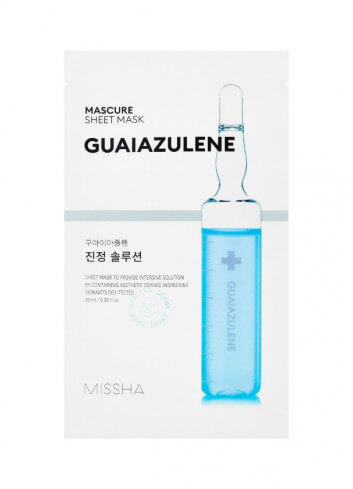 MISSHA Mascure Calming Solution Sheet Mask