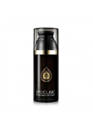 MAXCLINIC BLACK EDITION ROYAL CAVIAR OIL FOAM